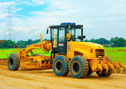 XG31802 motor grader is grading an expressway in Philippines