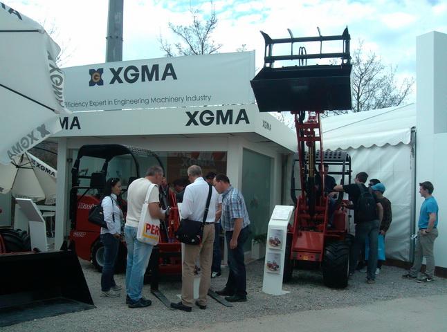 XGMA at Bauma 2013