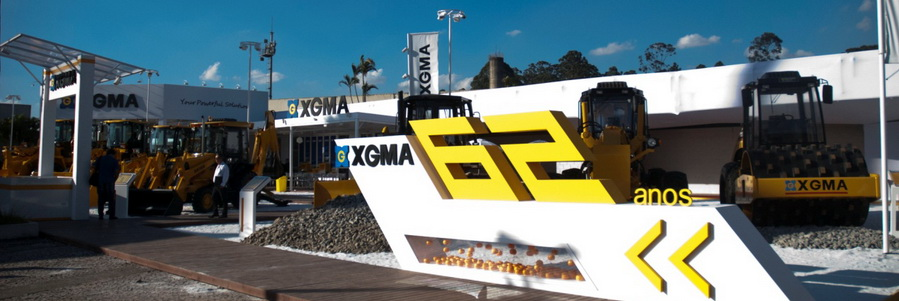 XGMA Won 10 Million Dollars Order in Construction Expo